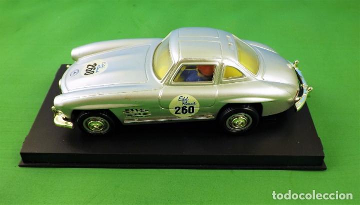 Slot Cars: Slot Cartronic Mercedes Gullwing 300sl - Foto 3 - 176019109