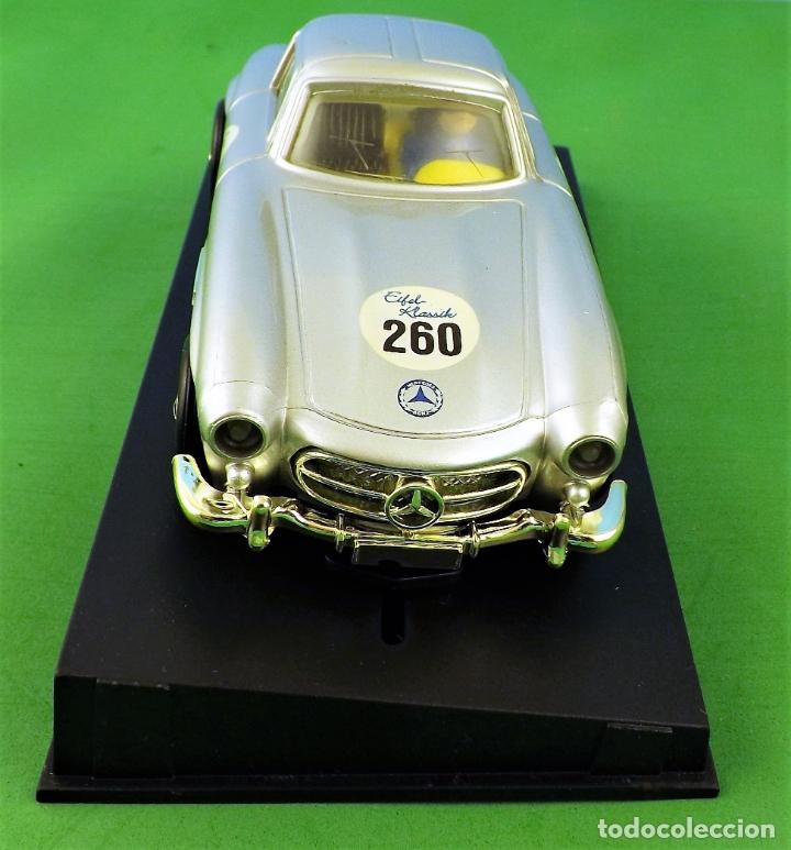 Slot Cars: Slot Cartronic Mercedes Gullwing 300sl - Foto 4 - 176019109