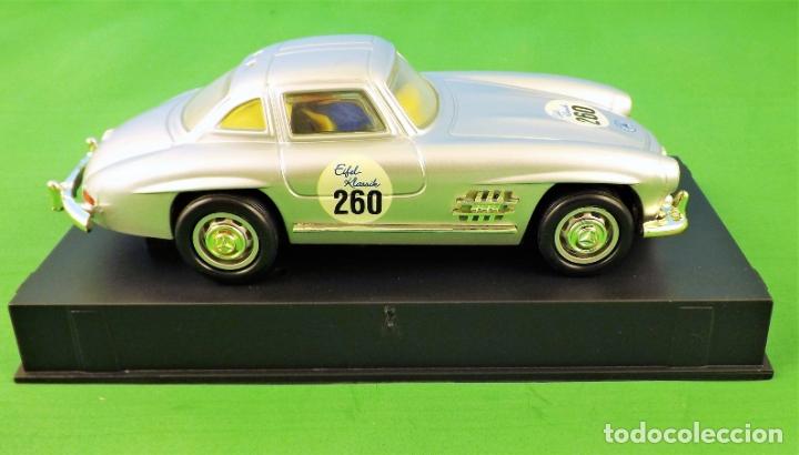 Slot Cars: Slot Cartronic Mercedes Gullwing 300sl - Foto 5 - 176019109