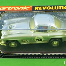 Slot Cars: SLOT CARTRONIC MERCEDES GULLWING 300SL. Lote 176019109