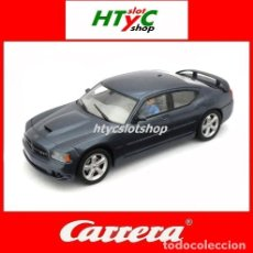 Slot Cars: CARRERA EVO DODGE CHARGER SRT 8 HEMI 2006 STREET CAR DIGITALIZABLE 27251. Lote 29388919