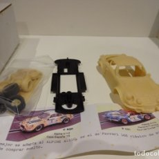 Slot Cars: MINI REPLICAS. ALPINE RENAULT A-110.. Lote 176295373