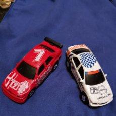Slot Cars: 2 COCHES DE CARRERAS TIPO SCALEXTRIC. Lote 176299652