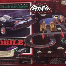 Slot Cars: CIRCUITO MICRO SLOT CARS BATMAN. Lote 176381335