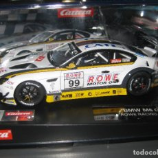 Slot Cars: 20027594 - BMW M6 GT3 Nº99 ROWE RACING DE CARRERA. Lote 176397972