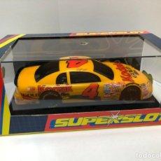 Slot Cars: COCHE SLOT SUPERSLOT CHEVROLET MONTE CARLO KODAK PARA LA NASCAR EN CAJA SIN USAR. Lote 176822035