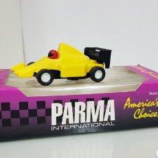 Slot Cars: SLOT PARMA INTERNACIONAL AMERICAN CHOICE FÁBRICA 2964 VOLKSWAGEN WOMP WOMP AMARILLO 11 X 4,5 CM. Lote 176908995