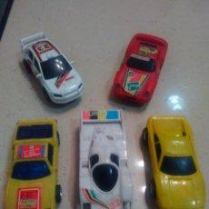 Slot Cars: LOTE DE COCHES DE PISTA - SLOT CARS. Lote 176965325