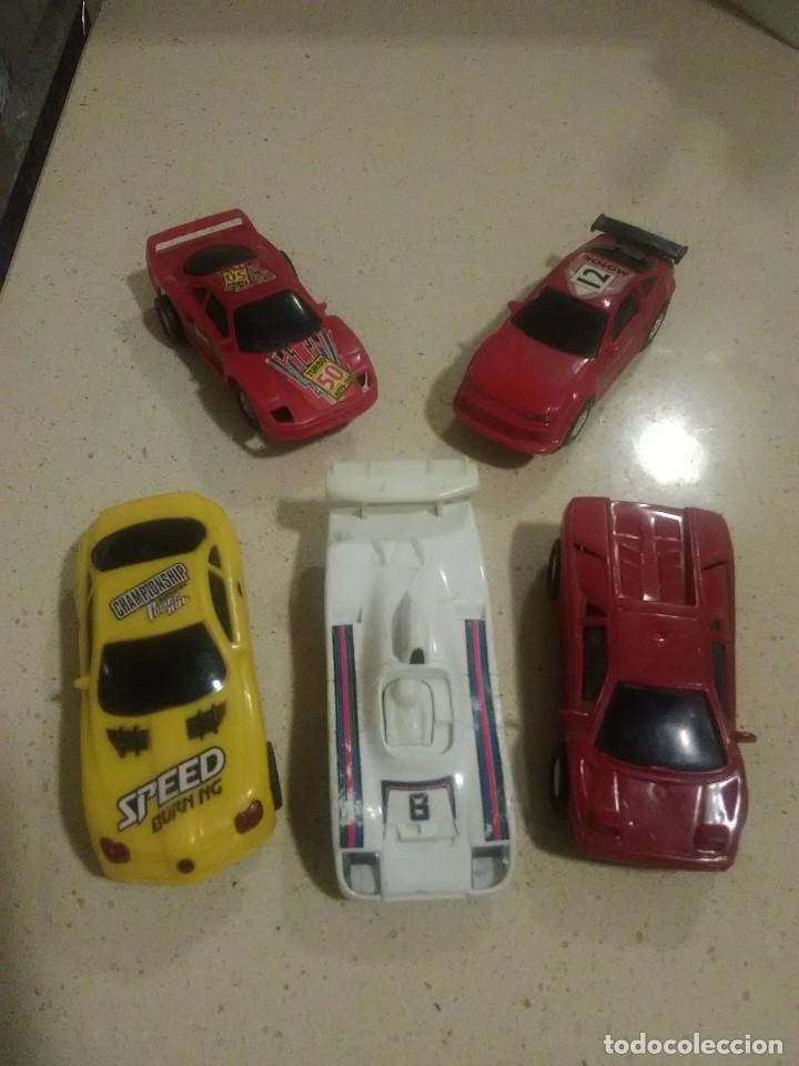 LOTE DE COCHES DE PISTA - SLOT CARS (Juguetes - Slot Cars - Magic Cars y Otros)
