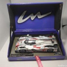 Slot Cars: LE MANS MINIATURES AUDI R18 E-TRON QUATTRO N°2 WINNER LE MANS 2013 REF. 132063/2M. Lote 177062680