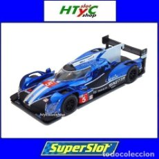 Slot Cars: SUPERSLOT GINETTA G60-LT-P1 #5 24 HS LE MANS 2018 SCALEXTRIC UK H4033. Lote 177138114