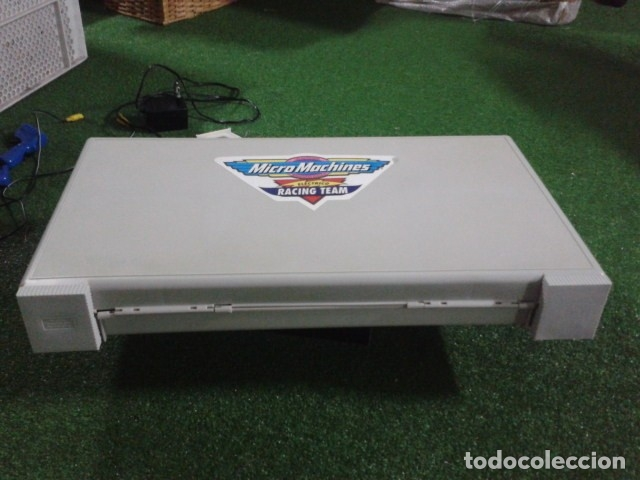 Slot Cars: MICROMACHINES ELECTRICO ( RACING TEAM - 1990 ) SCALEXTRIC MALETIN CON COCHES, MANDOS, CONECTOR , VER - Foto 7 - 177328562