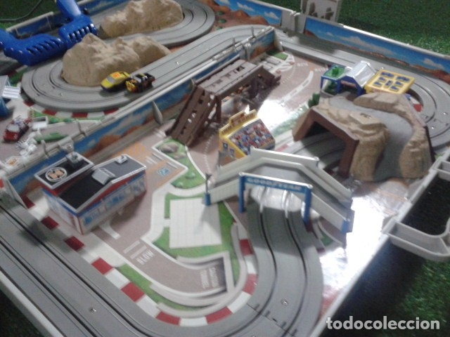 Slot Cars: MICROMACHINES ELECTRICO ( RACING TEAM - 1990 ) SCALEXTRIC MALETIN CON COCHES, MANDOS, CONECTOR , VER - Foto 11 - 177328562