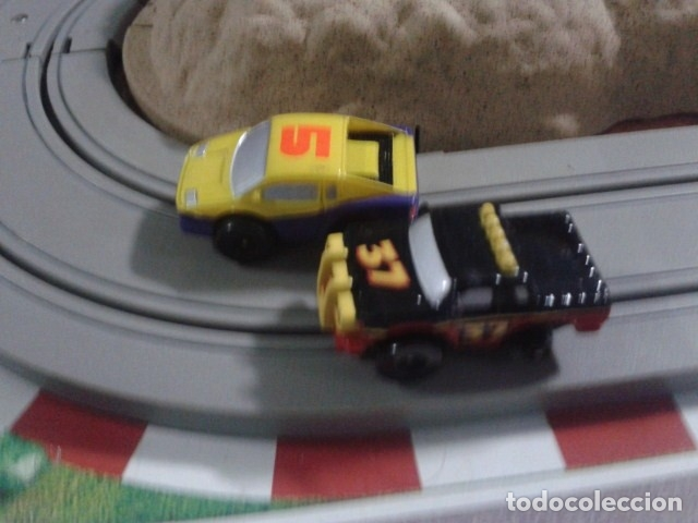 Slot Cars: MICROMACHINES ELECTRICO ( RACING TEAM - 1990 ) SCALEXTRIC MALETIN CON COCHES, MANDOS, CONECTOR , VER - Foto 13 - 177328562