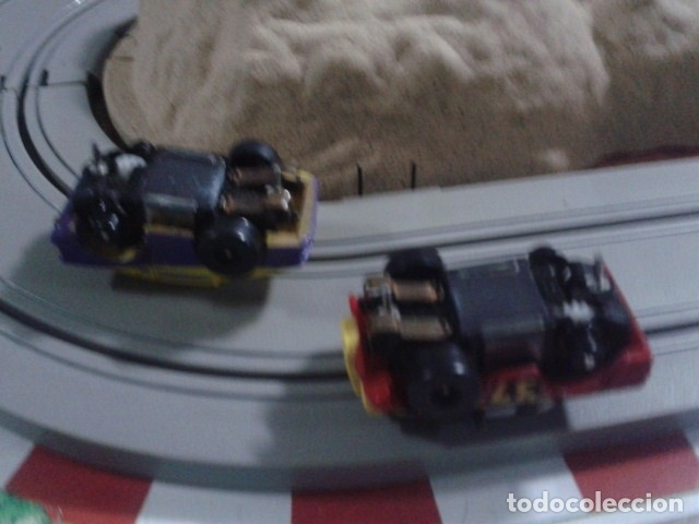 Slot Cars: MICROMACHINES ELECTRICO ( RACING TEAM - 1990 ) SCALEXTRIC MALETIN CON COCHES, MANDOS, CONECTOR , VER - Foto 14 - 177328562