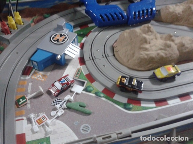 Slot Cars: MICROMACHINES ELECTRICO ( RACING TEAM - 1990 ) SCALEXTRIC MALETIN CON COCHES, MANDOS, CONECTOR , VER - Foto 19 - 177328562
