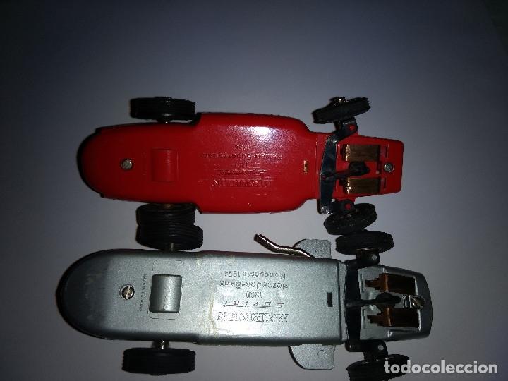 Slot Cars: MARKLIN Sprint. (pareja coches). Ferrari Supersqualo y Mercedes W 196 Monoposto - Foto 2 - 177614937