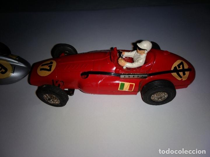 Slot Cars: MARKLIN Sprint. (pareja coches). Ferrari Supersqualo y Mercedes W 196 Monoposto - Foto 3 - 177614937
