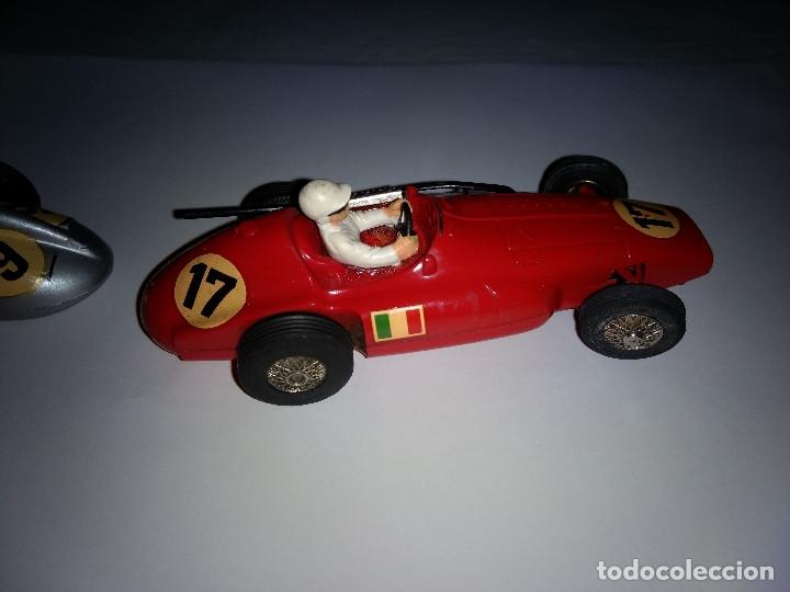 Slot Cars: MARKLIN Sprint. (pareja coches). Ferrari Supersqualo y Mercedes W 196 Monoposto - Foto 4 - 177614937