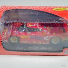 Slot Cars: SCALEXTRIC LANCIA LC2 SLOT IT LE MANS 1990. Lote 177736269