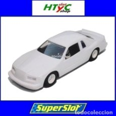 Slot Cars: SUPERSLOT FORD THUNDERBIRD WHITE SCALEXTRIC UK H4077. Lote 177765464
