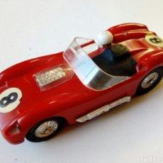 Slot Cars: COCHE CIRCUIT 24 - FERRARI TR 60 - PARA REPARAR / RESTAURAR - MADE IN FRANCE - ORIGINAL AÑOS 60 -. Lote 177824780