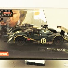 Slot Cars: CARRERA SLOT BENTLEY EXP. Lote 178008528