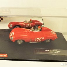 Slot Cars: CARRERA SLOT JAGUAR D-TYPE. Lote 178011200