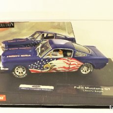 Slot Cars: CARRERA SLOT FORD MUSTANG GT LIBERTY EAGLE. Lote 178110949