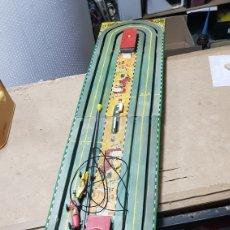 Slot Cars: DESGUACE PISTA MOTORSIN CARRERA COCHES FABRICADOS EN ESPAÑA POR CONGOST. Lote 178112330