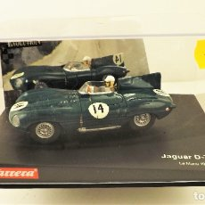 Slot Cars: CARRERA SLOT JAGUAR D.TYPE REF 25461. Lote 178193520