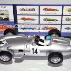 Slot Cars: CARTRIX MERCEDES BENZ W-196 KARL KLING Nº 14 REF 912 Nº 000628. Lote 178335742
