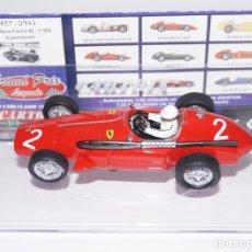 Slot Cars: CARTRIX FERRARI F555 NINO FARINA Nº 2 REF 0941 Nº 01081. Lote 178337832