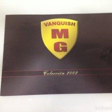 Slot Cars: SLOT, MG VANQUISH, CUADRIPTICO COLECCIÓN 2002. Lote 178670073