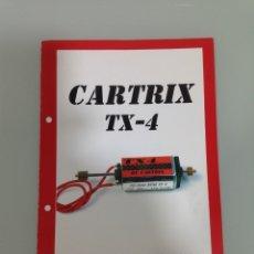 Slot Cars: SLOT, CARTRIX TX-4, FICHA TECNICA. Lote 178670193