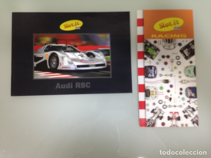 SLOT, SLOT.IT, AUDI R8C DIPTICO, POLIPTICO RACING (Juguetes - Slot Cars - Magic Cars y Otros)