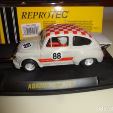 Slot Cars: REPROTEC. FIAT ABARTH 1000 TCR. CAMP. EUROPA. REF. 1950. Lote 178832408