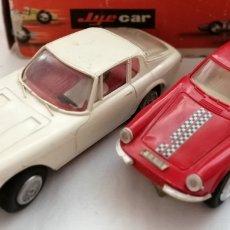 Slot Cars: DOS MASERATI GT A6 JYECAR JYESA.. Lote 178875377