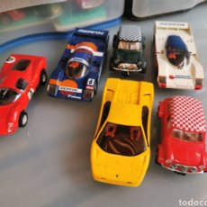 Slot Cars: LOTE DE COCHES HORNBY HOBBY.. Lote 179093362
