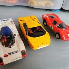 Slot Cars: HORNBY HOBBIES. LID. LOTE DE TRES COCHES DE ESTA MARCA.. Lote 179514390