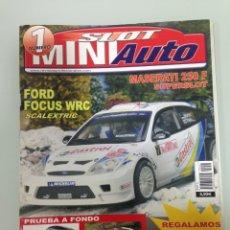 Slot Cars: SLOT MINIAUTO 1,PORSCHE 956 NEW MAN,ALFA GT VELOCE, PEUGEOT 206 WRC,FORD FOCUS WRC, SEAT 124 . Lote 179516246