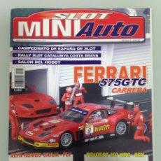 Slot Cars: SLOT MINIAUTO 2,FERRARI 250 LM, FERRARI 575 GTC,PEUGEOT 307 CC WRC,HONDA NSX,PORSCHE 914,MANDO JET . Lote 179523041