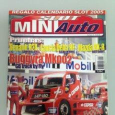 Slot Cars: SLOT MINIAUTO 3,BUGGYRA MK 002B,RENAULT R24 ALONSO,LANCIA DELTA HF INTREGRALE C.SAINZ, FABIA WRC . Lote 179524375