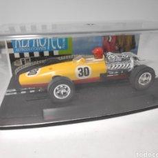 Slot Cars: REPROTEC HONDA F1 AMARILLO ROJO REF. 5035. Lote 180032713