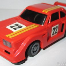 Slot Cars: TCR COCHE BMW NARANJA, IDEAL TOY / MODEL-IBER 1980, MADE IN SPAIN. Lote 180032763