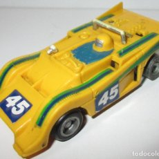 Slot Cars: TCR COCHE JAM CAR BARQUETA, IDEAL TOY / MODEL-IBER 1980, MADE IN SPAIN. Lote 180033148