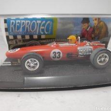 Slot Cars: REPROTEC BRM F1 ROJO. Lote 180256921