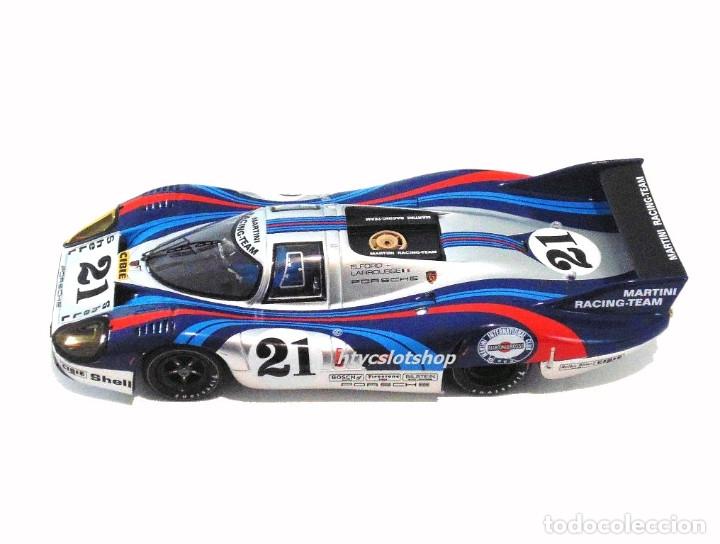 Slot Cars: LE MANS MINIATURES PORSCHE 917 LH #21 MARTINI LE MANS 1971 LARROUSSE / ELFORD 132086/21M - Foto 3 - 195130690