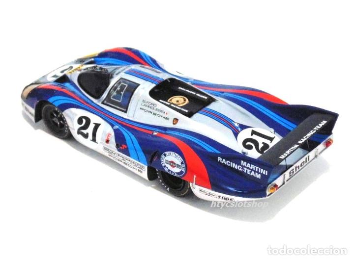 Slot Cars: LE MANS MINIATURES PORSCHE 917 LH #21 MARTINI LE MANS 1971 LARROUSSE / ELFORD 132086/21M - Foto 5 - 195130690