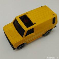 Slot Cars: TCR COCHE CARRERAS - CAMION AMARILLO - 1980 IDEAL TOY -FABRICADO EN ESPAÑA. Lote 180888393